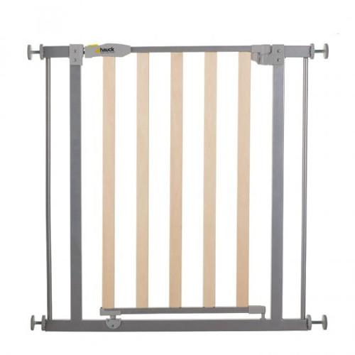 Poarta Siguranta Wood Lock Safety Gate Silver