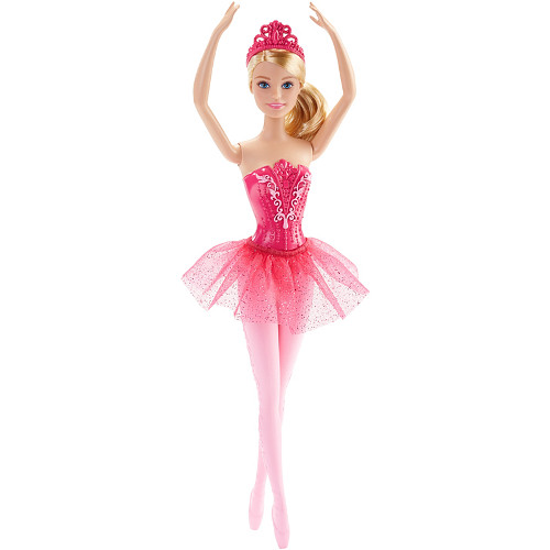 Papusa Barbie Balerina in Costumas Roz