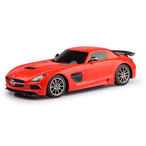 Masinuta Mercedes-Benz SLS AMG cu Telecomanda 1:18 imagine