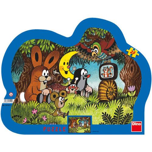 Dino Toys Puzzle cu Rama Prietenii din Povesti 25 Piese