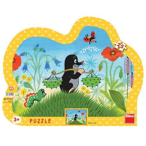 Dino Toys Puzzle cu Rama Micuta Cartita 25 Piese
