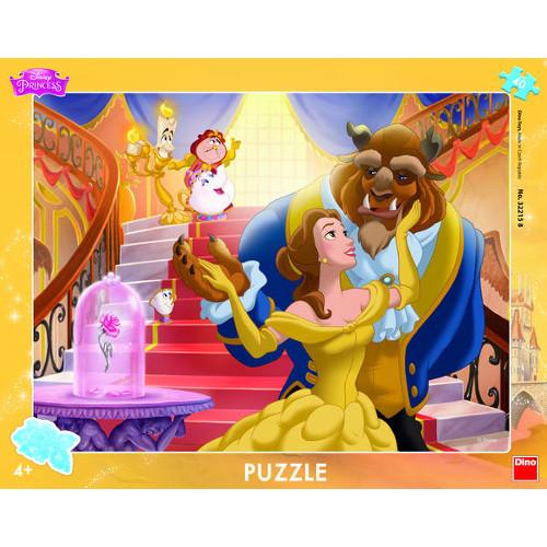 Puzzle Frumoasa si Bestia 40 Piese