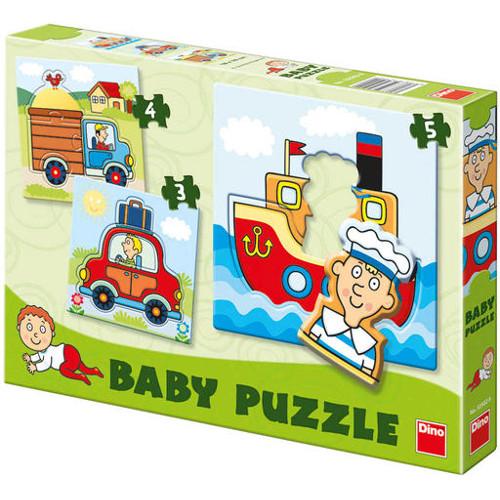 Set Puzzle-uri - Vehicule 3-5 Piese