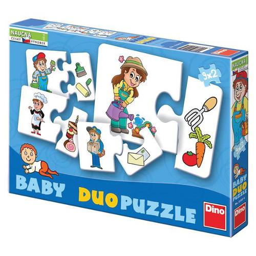 Puzzle Duo Profesii 18 Piese