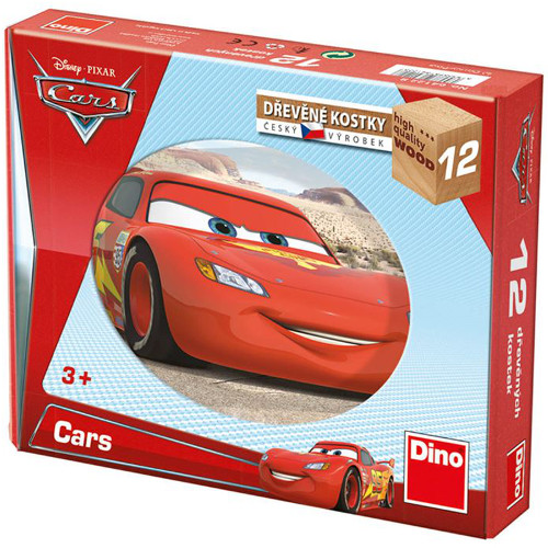 Puzzle Cubic Cars 12 Piese