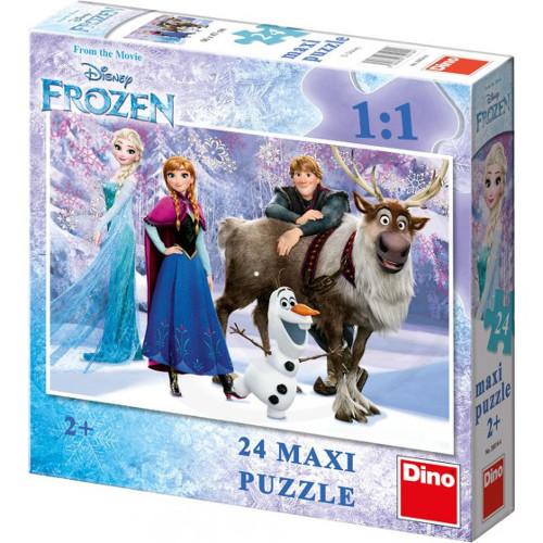 Puzzle de Podea Frozen 24 Piese