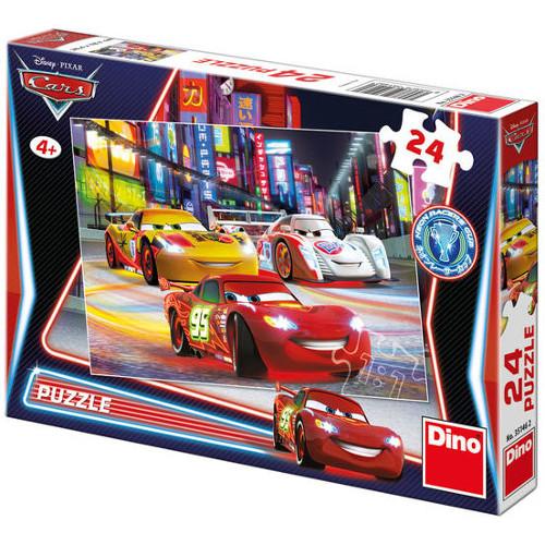 Puzzle Cars Cursa de Noapte 24 Piese