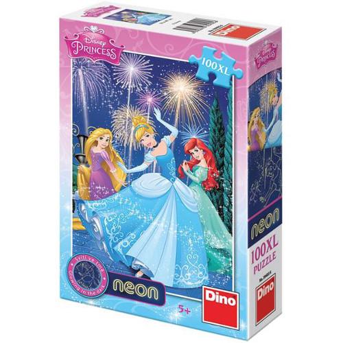 Puzzle Disney Princess Neon XL 100 Piese