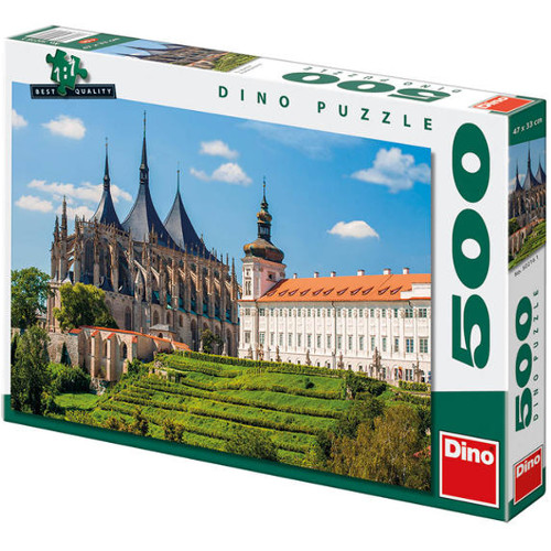 Dino Toys Puzzle Catedrala Sf Barbara 500 Piese