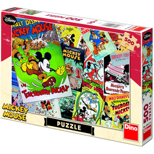 Dino Toys Puzzle Distractie cu Mickey Mouse 500 Piese