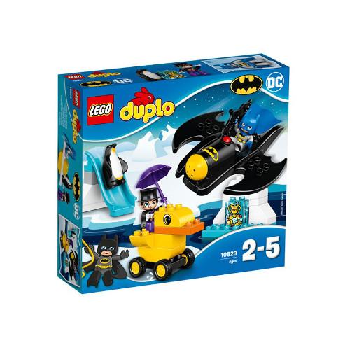 LEGO DUPLO Aventura cu Batwing-ul 10823