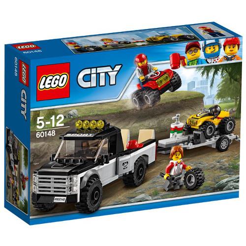 LEGO City Echipa de Curse pe ATV 60148