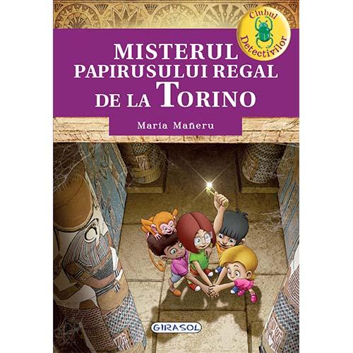 Clubul Detectivilor - Misterul papirusului regal de la Torino