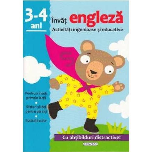 Activitati ingenioase si educative. Invat Engleza, 3-4 ani