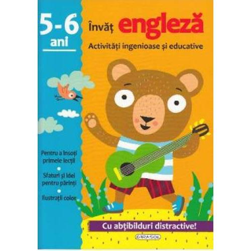 Activitati ingenioase si educative. Invat Engleza, 5-6 ani