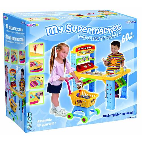 Set Supermarket cu 60 Piese