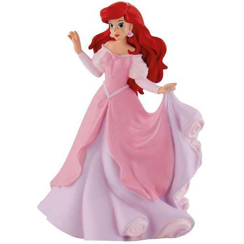 Figurina Ariel in Rochie Roz