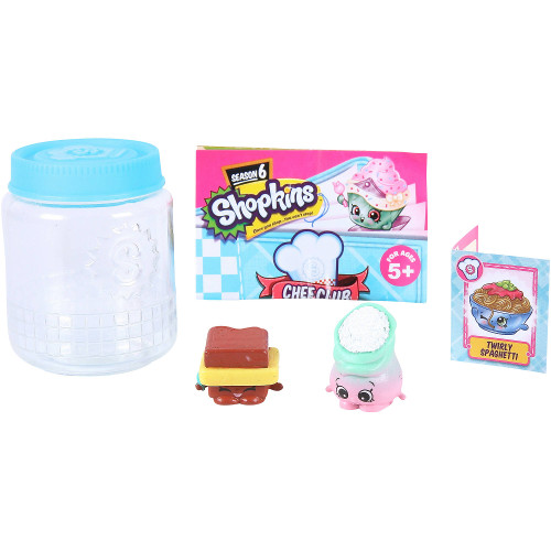 Shopkins - 2 Figurine in Borcanel Seria 6
