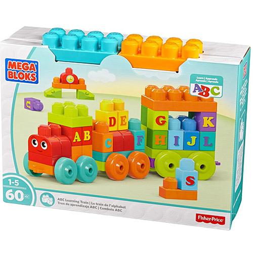 Trenulet cu Litere Mega Bloks