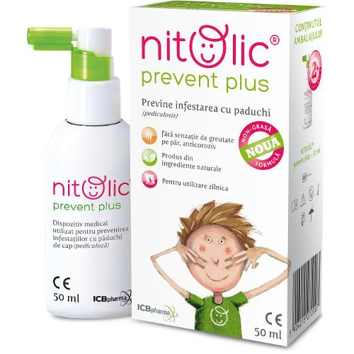 Nitolic - Spray pentru Prevenirea Infestarii cu Paduchi
