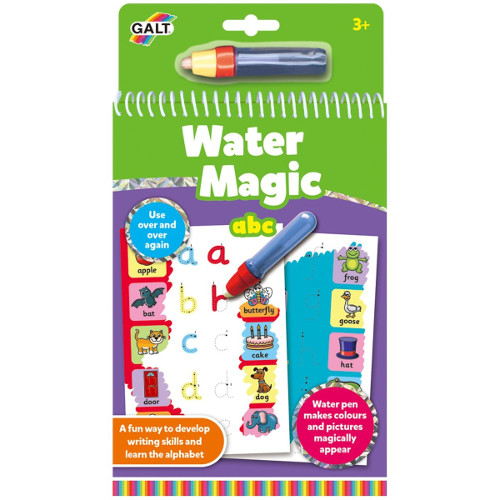Water Magic: Carte de Colorat Alfabet