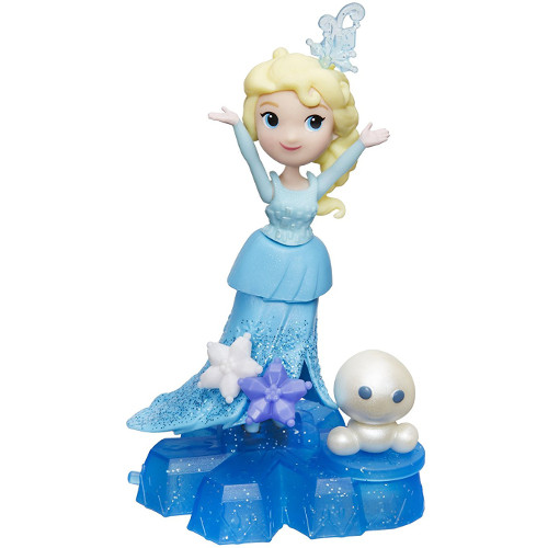 Frozen - Figurina Elsa pe Fulg