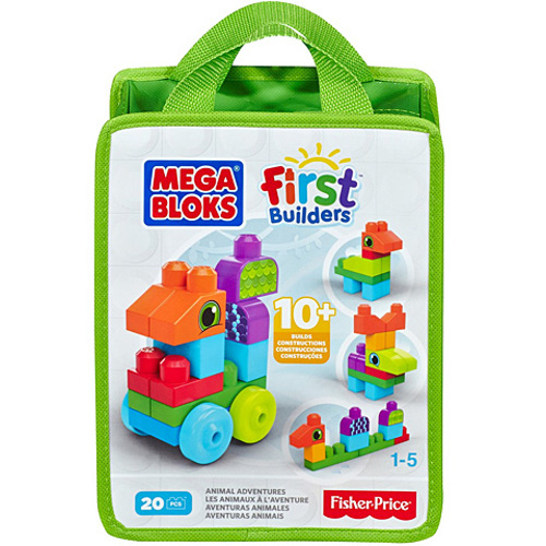 Fisher-Price Set de Construit 20 de Piese Mega Bloks