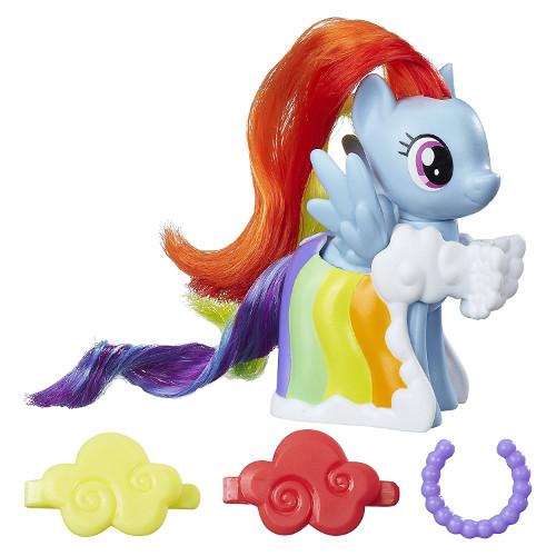 Figurina My Little Pony cu Accesorii de Gala Rainbow Dash