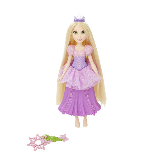 Papusa Disney Princess Rapunzel Tiara cu Bule