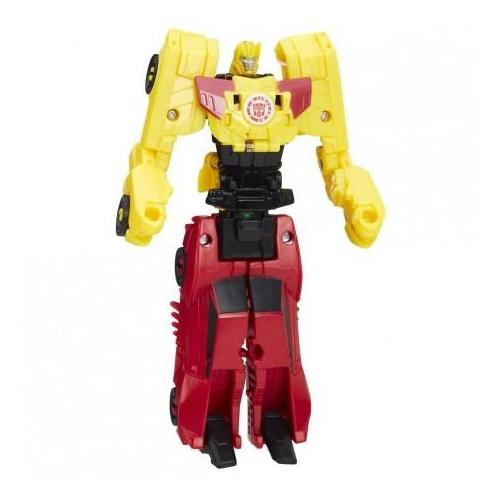 Figurine Transformers - Crash Combiners - Sideswipe vs Bumblebee