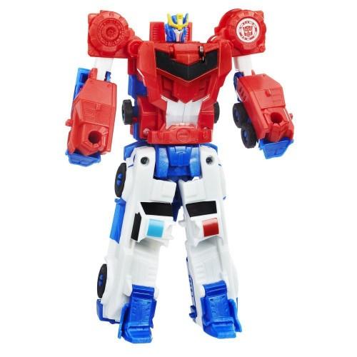 Figurine Transformers - Crash Combiners - Strongarm vs Optimus