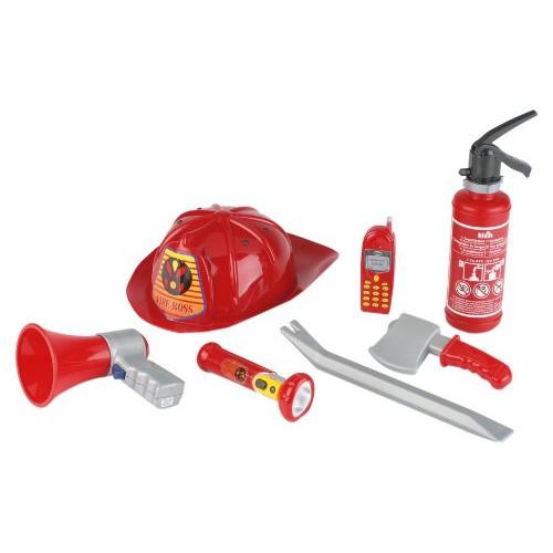 Set Accesorii Pompier cu Casca de protectie, Stingator si Telefon mobil thumbnail