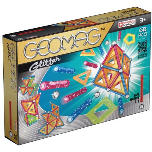 Set Constructie Magnetic Glitter 68