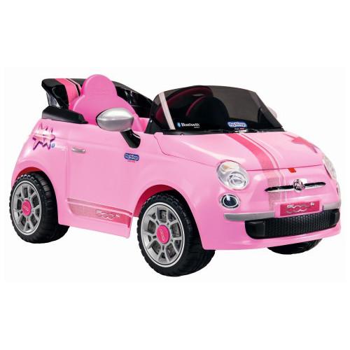 Fiat 500 Star Pink cu Telecomanda