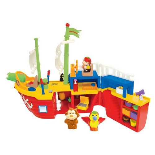 Barca Piratilor cu Sunete Lumini si Activitati