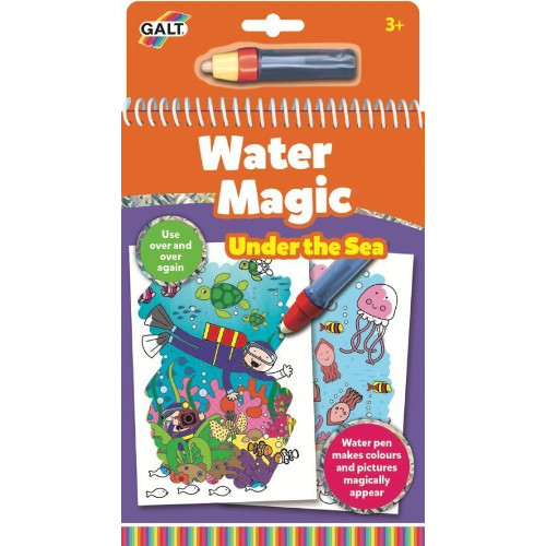 Water Magic Animals - Carte Colorat Ocean