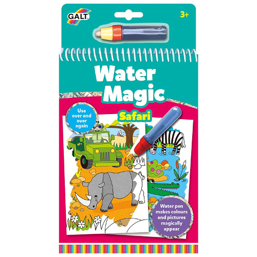 Water Magic Animals - Carte Colorat Safari thumbnail
