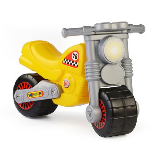 Motocicleta Galbena