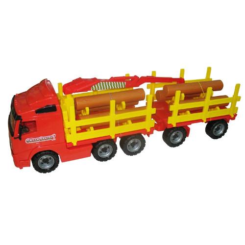 Camion Transport Busteni cu Remorca
