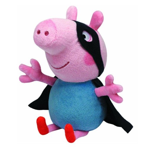 Plus Peppa Pig - George Supereroul 15 cm