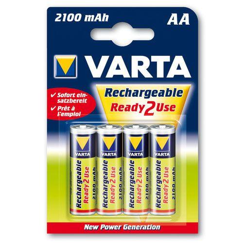 Set 4 Acumulatori AA Varianta 2100 thumbnail