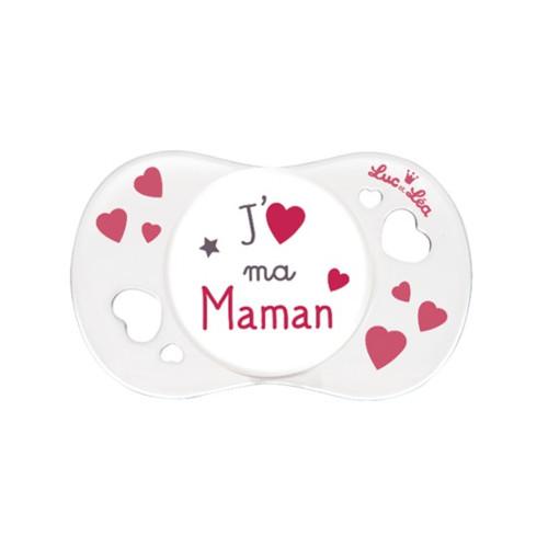Suzeta Silicon SYM J'aime Ma Maman 0-6 Luni