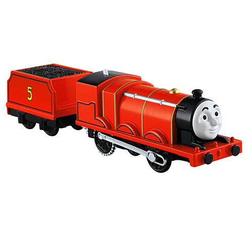 Locomotiva Thomas and Friends Motorizata - James thumbnail