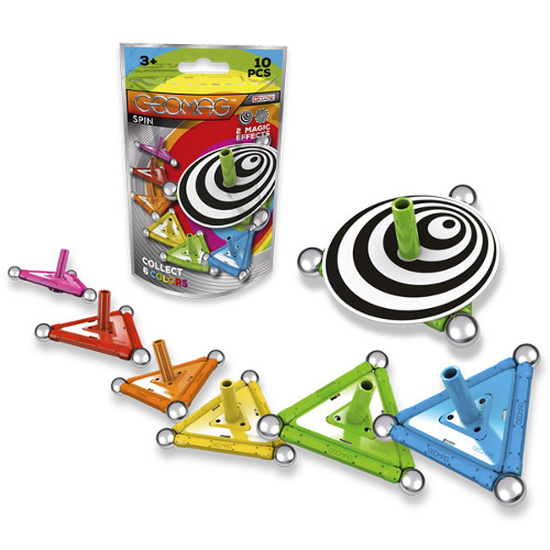 Geomag Set Constructie Magnetic Spin 10