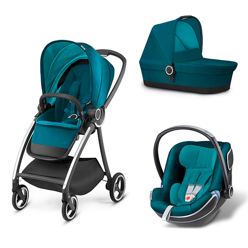 Carucior 3 in 1 Maris Capri Blue thumbnail