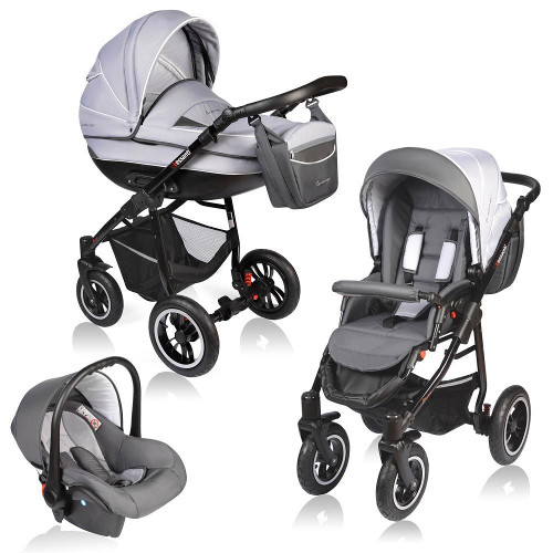 Carucior Crooner 3 in 1 Gray