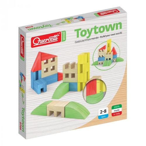 Quercetti Joc Constructie Toytown 22 Piese
