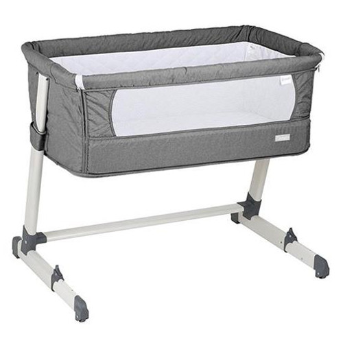 Patut Co-Sleeper 2 in 1 Together Grey