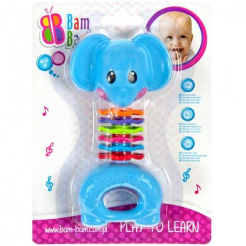 Jucarie Dentitie si Zornaitoare Elefant