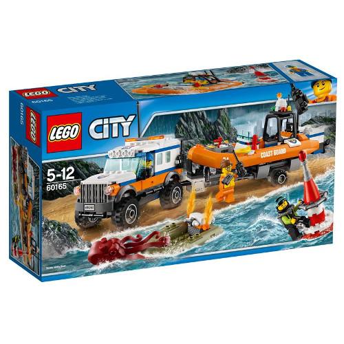 LEGO City Unitatea de Interventie 4 x 4 60165